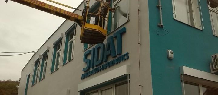 Mytí plastových oken ve výšce Brno