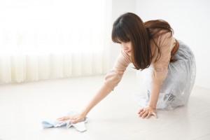 ruční mytí podlah